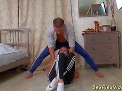 flexible teen sex acrobatic
