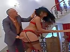 Anal Fuck And DP For A Hot Babe In Stockings