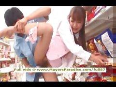 Mihiro masum Çinli kız süpermarket seks alıyorum sahiptir