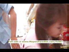 Mihiro невинных Китайская девушка наслаждается получать супермаркетов половые