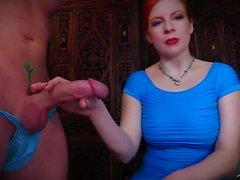 Swallow Your Shame You Faggot - Lady Fyre Femdom