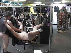 GPB / Kinky gay fun in the sex shop