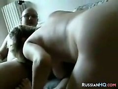 Pregnant Russian Anal Fucked