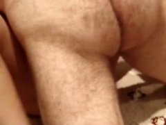 Busty German Mother banged dog and creampied