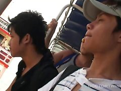 Asian Twinks Non and Golf Bareback Fuck