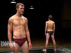 Shane Erickson vs. Christian Wilde: The Oil Match - Kink Men