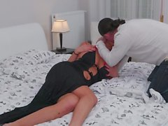 Sexy busty mothers suck and fuck big cocks