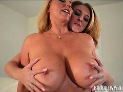 Two Hot Blondes At Play Brooke Wylde and Karen Fisher