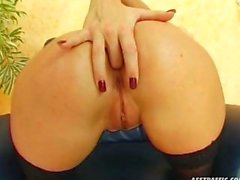 A Naughty Slut Loves Her Ass Fucked Hard