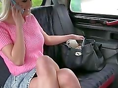 Sienna gets a blackmail fuck in the car