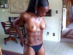 Conveniente Chica caliente Negro