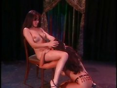 Asia and Alicia Rio live on stage