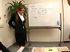 Japanese beauty Ramu Gangbanged in a Pantyhose