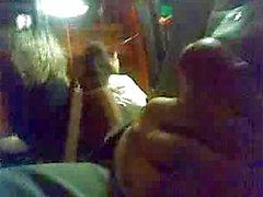 Masturbating in bus
