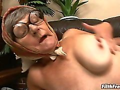 One old ass bitch getting nailed!