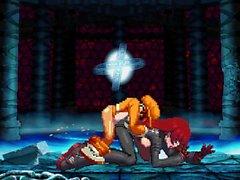 Bao di VS Isabeau XIII combattimento Hentai porno