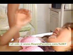 Miyu Hoshino innocent naughty Chinese girl enjoys a rear fucking