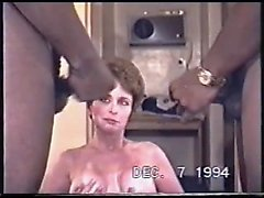 Adult swinger schoolteacher drawing two cocks down