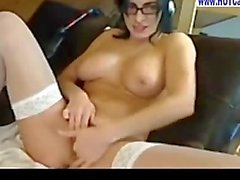 Chat Live with Nasty Brunette Big Tits Anal Toying on Webcam