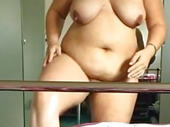 Naked chubby wife 2nd vid