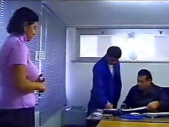 office sex caught by boss