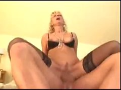 Mature hot mom gets hard anal fuck