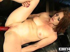 Hot pornstar bdsm and orgasm