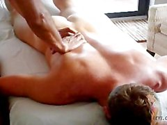 Levi Poulter gets a hot massage with happy ending