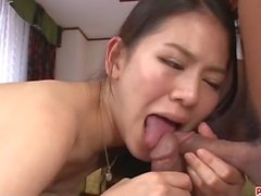 Kei Akanishi ona zevk vermek için ciddi üçlü