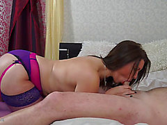 British Mother I'd Like To Fuck Christine O engulfing and fucking in underware
