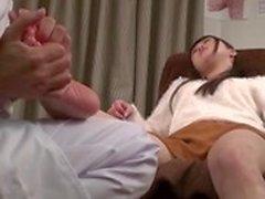 японский массаж ног и секс