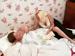 Russian Mature Knows How to put a guy to sleep