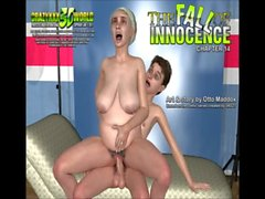 3D Comic: The Fall Of Innocence 13-15