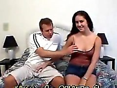Amateur Teen With Two Cocks