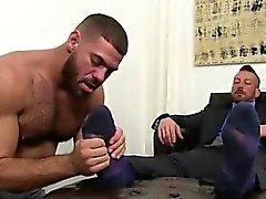 Boy gay sex jalka idolizing esittää ensin jalka hieronta