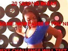 "ebony twerk & jerk challenge - mission ""not"" cum?... impossible"