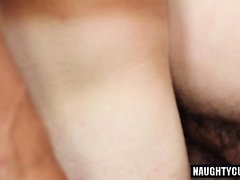 Big dick Sohn Oralsex und abspritzen