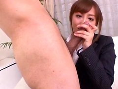 Mami Asakura office adventure - More at javhd