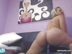 CamSoda - Alexis Texas Masturbation Orgasme Big BlowJob Booty