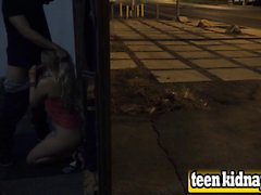 Lilly Sapphire Public Blowjob Fucking Kidnapped