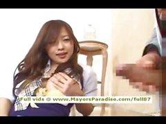 De Miyu Hoshino doigtés et la des blowjobs chinois innocents