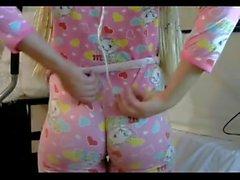Blond PAWG big butt ass in tight leggins pornwebcamz