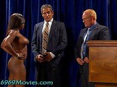 Cumdoleezza Riz Maison Blanche BJ avec Dick et Bush sur Spunk'd!