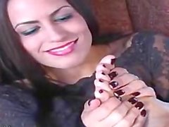 Gothic Girl Sexy Feet