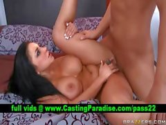 Audrey Bitoni brunette gets fucked and gets cumshoot