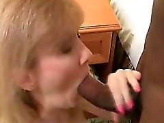 Sexy blonde lady loves dick