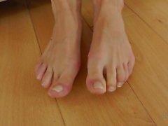 Nina Feet Tease