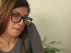 Ava Taylor Fucking Hot Brunette In Glasses