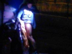 Spanish girl caught fucking with Fallera dress