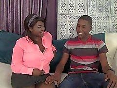 Uomo nero e donna nera